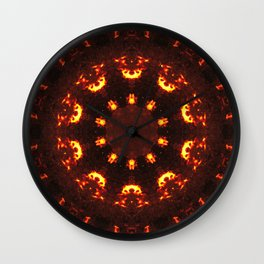 The Back Burner Wall Clock