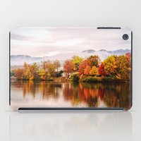 north carolina iPad Cases featuring Lake Junaluska, North Carolina by Mary Timman