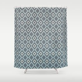 Blues & Grays Shower Curtain