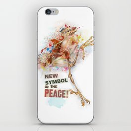 New Symbol Of The Peace iPhone Skin
