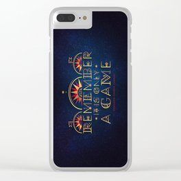Only A Game Clear iPhone Case