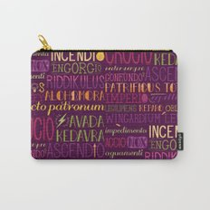 Standard Poster of Spells Carry-All Pouch
