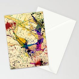 Paints Stationery Cards