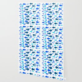 Blue Fishes Wallpaper