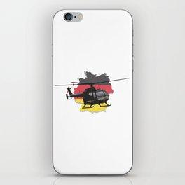 German Black Helicopter iPhone Skin