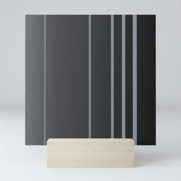Coal and Selenium Spectrum Mini Art Print