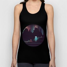 the adventure continues ! Unisex Tank Top