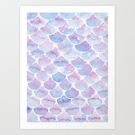 Mermaid Scales 03 Art Print