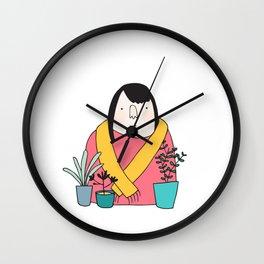 I like plants Wall Clock