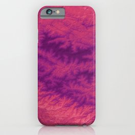 Sangria Cascades - Caucasus Mountains iPhone Case