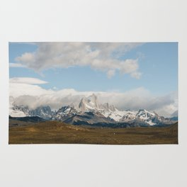 Iconic Towers of Patagonia Rug