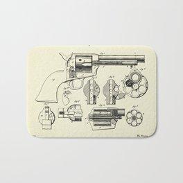 Revolving Fire Arm-1875 Bath Mat