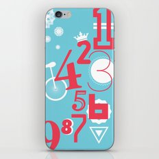 123... iPhone & iPod Skin