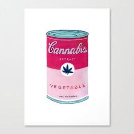 Cannabis Soup Canvas Print