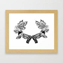 """""""BangBang"""" Framed Art Print"""