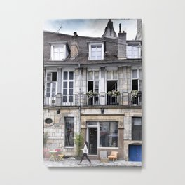 Antiquity shop Besançon France Metal Print