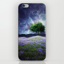 """Soul Tear"" - Nature Meets Space iPhone Skin"