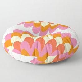 Dahlia at 60's Floor Pillow