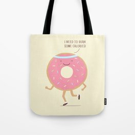 The Donut workout Tote Bag