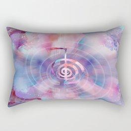 Cho Ku Rei - Gentle Watercolor Rectangular Pillow