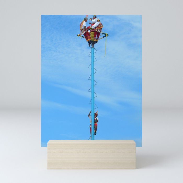 Flying artist collection _01 Mini Art Print