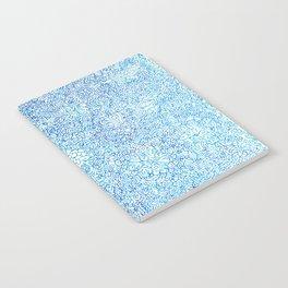 Blue Ornate Notebook