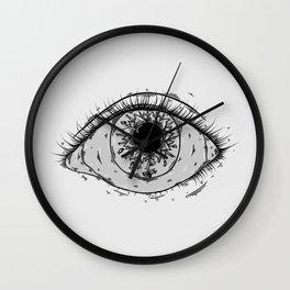 Chapped Wall Clock