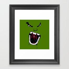 Hungry Hungry Hulk // Original Framed Art Print