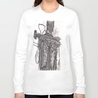 daryl dixon Long Sleeve T-shirts featuring Daryl Dixon by Layla Atchison