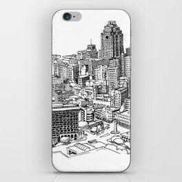 San Antonio skyline iPhone Skin