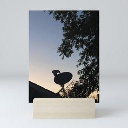Satellite Dish Gradient Mini Art Print