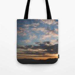Sunset Hike Los Angeles Tote Bag