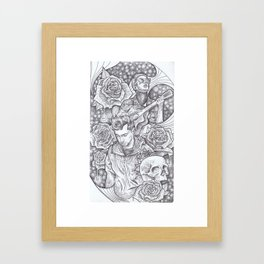 Tyler Joseph and Blurryface. TOP Framed Art Print