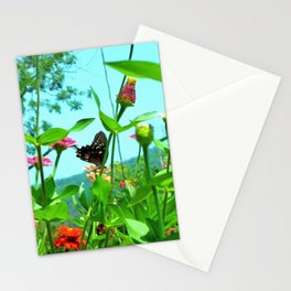 Butterfly with a View Stationery Cards
