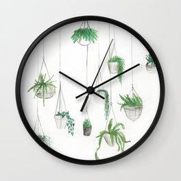 Urban Greenery: Part 1 Wall Clock