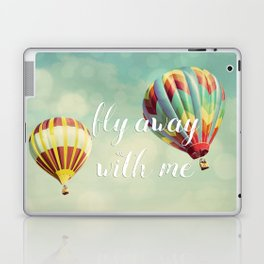 Fly Away with Me Laptop & iPad Skin