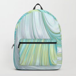 Teal Dreams Collection (2) - Fractal Art  Backpack