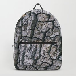 Cracked Bark Texture Backpack