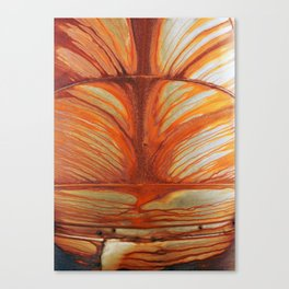 Rusty Abstract Watermarks Canvas Print
