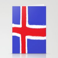 iceland Stationery Cards featuring Iceland by Katja_Gerasimova