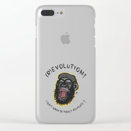 (R)evolution! Clear iPhone Case