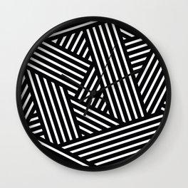 Braided liens Wall Clock