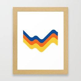 Sound Wave Framed Art Print