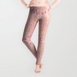 Pinwheel Blush Leggings