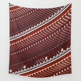 Pagoda roof pattern Wall Tapestry