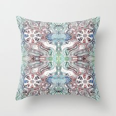 Farewell Mr. Space Echo Throw Pillow