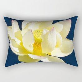 Lotus Flower by Teresa Thompson Rectangular Pillow