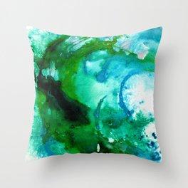 Fantasy Wave Throw Pillow