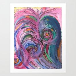 Forgiving The Silence Art Print