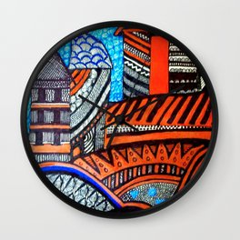 A City View Wall Clock